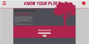 Know Your Place Beta